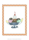 Ice Cream Parlor IV Prints by Virginia A. Roper