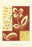 Festive Floral II Posters by Virginia A. Roper