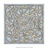 Silver Filigree VII Impressão giclée por Megan Meagher