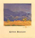 Rain in the Mountains Kunstdruck von Gustave Baumann