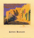 Old Santa Fe Kunstdrucke von Gustave Baumann