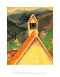 Church Bell, Ward Pôsters por Georgia O'Keeffe