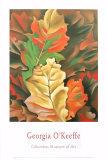Efterårsblade Posters af Georgia O'Keeffe