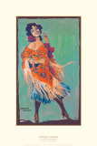 Spanish Dancer Poster par Gerald Cassidy