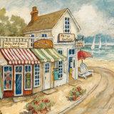 Ocean Village I Art par Charlene Winter Olson