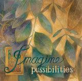 Imagine Affiches par Elaine Vollherbst-Lane