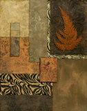 Exotic Fern II Poster von Norm Olson