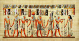 Egyptian Papyrus, Design VI Posters
