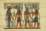 Egyptian Papyrus, Design IV Posters