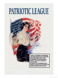 Patriotic League Posters av Howard Chandler Christy