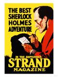 Best Sherlock Holmes Adventure Poster