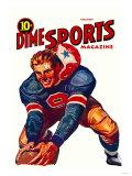 Dime Sports Magazine Pôsters