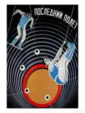 Last Flight Posters por  Stenberg Brothers