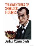 Sherlock Holmes Mystery Posters por Erberto Carboni