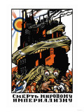 Kill The Imperialistic Monster Posters
