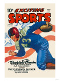 Backfield Bomber Posters
