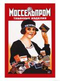 Mosselprom Tobacco Art by M. Bulanov