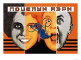 Mary's Kiss Posters por Seymon Semyonov