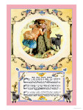 Baa Baa Black Sheep, c.1885 Láminas por Crane, Walter