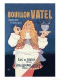 Bouillon Vatel Plakater af Eugene Oge