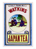 Watkins Japan Tea Kunstdrucke