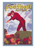 Football Action Posters