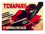 Tchapaief: The Red Guerrilla Posters by Josep Renau Montoro