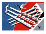Panssarilaiva Potemkin Juliste tekijänä  Stenberg Brothers