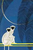 New Moon Kunstdruck von Frank Mcintosh