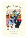 Gilbert & Sullivan: Ruddigore, or The Witch's Curse Plakater
