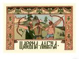 Archers Posters by Ivan Bilibin