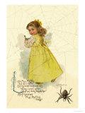 Little Miss Muffett Prints by Maud Humphrey
