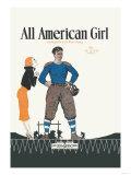All American Girl Pôsters