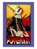 Potemkin Posters av D. Rudeman