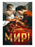 Long Live Peace Prints by Nikolai Tereschenko