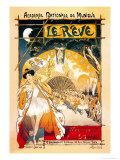 Le Reve Posters by Théophile Alexandre Steinlen