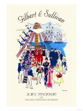 Gilbert & Sullivan: H.M.S. Pinafore, or The Lass That Loved A Sailor Plakater