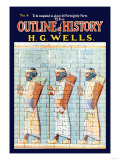 Outline of History by H.G. Wells, No. 6: Warriors Plakater