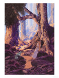 The Enchanted Prince Kunst af Maxfield Parrish
