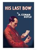 Sherlock Holmes- His Last Bow Kunst van Erberto Carboni