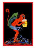 Biere au Diable Plakater af Eugene Oge