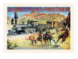 Buffalo Bill: The Great Train Hold Up Prints