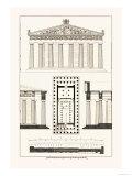 The Parthenon at Athens Prints by J. Buhlmann