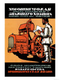 Knowledgeable Husbandman Always Gets a Good Harvest Print by V. Kaabak
