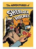 Les aventures de Sherlock Holmes Affiche par  Guerrini