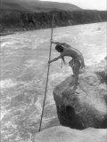 The Wishham Fisherman Photo by Edward S. Curtis