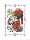 Alice in Wonderland: Alice and the Duchess Stampe di Tenniel, John