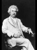 Mark Twain Fotografía por A.f. Bradley
