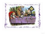 Alice in Wonderland: A Mad Tea Party Poster di Tenniel, John
