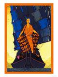 China-Cargoes Print by Frank Mcintosh